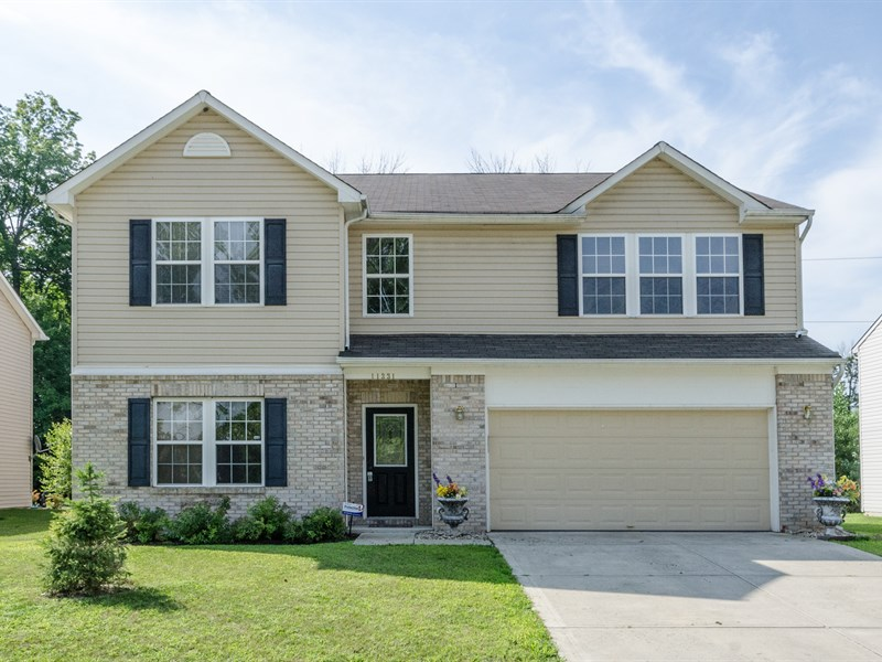 SOLD-11331 High Timber Drive, Indianapolis, IN  46235